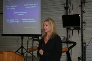 Rosemount  High School Principal Elizabeth Vigil