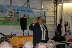 SMUD Ward-3 Representative Gregg Fishman talked about Solar energy