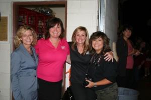 Carol Paris, Dawn Carlson, Tracey Schaal and Christine Roybal