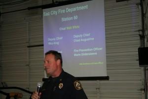 Fire Chief  Walt White