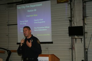 Fire Marshal  Jason Lee