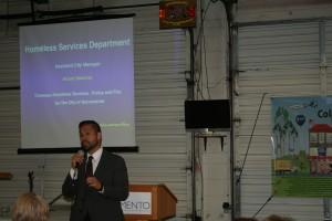 Arturo Sanchez, Assistant City Manager.  Homeless Services Dept.