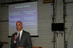 Principal Andreas Agos Christo Rey High School