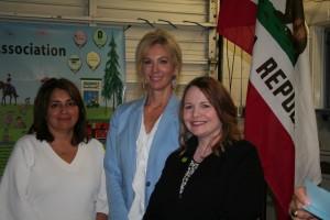 Lorena Carrillo, Elizabeth Vigil and Christina Pritchett