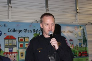 Daniel Monk Acting Police Captain